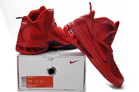 lebron red shoes. nike lebron james 9 8803 basketball shoes red