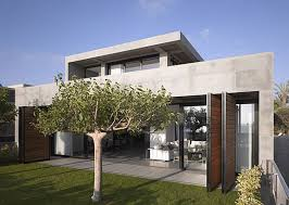 ... Minimalist Home Architecture Designs In Spain : Wonderful Minimalist  Home Architecture Designs Green Garden Outside Looking ...