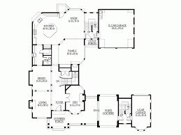Eplans New American House Plan U Shaped Home With Unique Floor