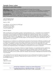 Best Solutions Of Cover Letter Canada Examples Cover Letter Examples