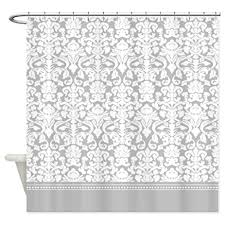 interior 45 perfect damask shower curtain se home black and white