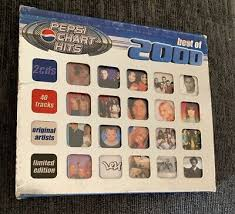 Pepsi Chart Hits Best Of 2001 Double Cd Various Artists