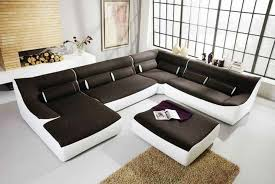 living room modular furniture. Living Room Furnished With Contemporary Modular Furniture And Using Shag Rug O