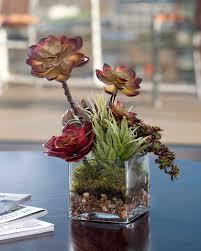 Faux Succulent Floral Accent GREEN