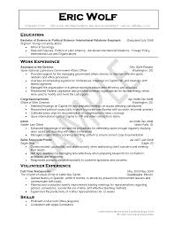 Political Resume Resume Templates
