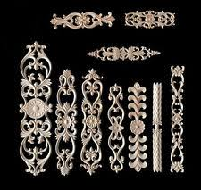 wooden appliques for furniture. Wood Carved Applique Frame Onlay Furniture Decoration Unpainted DIY Home Craft Wooden Appliques For O