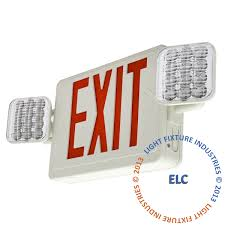 browse our full line of exit lights exit sign emergency light combos