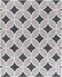 geometric gray rug charcoal light gray geometric trellis rug modern rug artistic grey geometric rug canada
