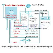 motorcycle alarm system wiring diagram php motorcycle wiring motorcycle alarm system wiring diagram php 2017 car motorcycle bike curity alarm system immobilir remote