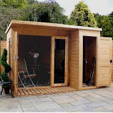 garden office with storage. interesting garden mercia outdoor pent storage office house fsc wood garden room w side shed  10x8ft with