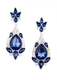precious sapphire jewel earrings