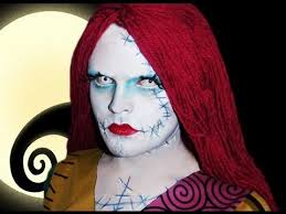sally the rag doll the nightmare before makeup tutorial