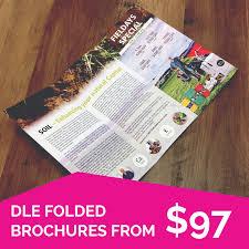 Brochures Dle Folded Brochures