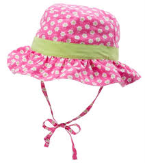 Iplay Sun Hat Size Chart I Play By Green Sprouts Girls Classic Reversible Ruffle Bucket Hat Baby Toddler At Swimoutlet Com
