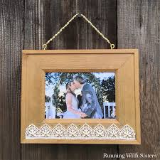 easy beaded picture frame