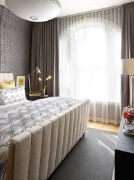 Master Bedroom Curtains Bedroom Contemporary With Area Rug Bed Bedding.  Image By: Tom Stringer Design Partners