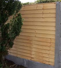 overlap panel fencing