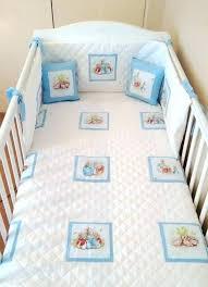 peter rabbit crib bedding baby boys potter nursery set