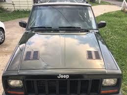 jeep xj cherokee hood vents louvers install