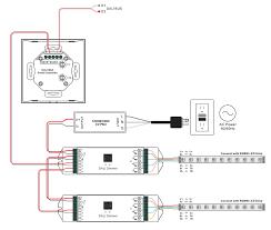 rgbw dali dt6 dt8 touch controller sr 2300tr rgbw Touch Switch Wiring Diagram Touch Switch Wiring Diagram #82 touch lamp control switch wiring diagram
