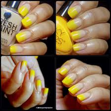 Nail Art - Yellow Nails for Instagram's 31 Day Challenge ...