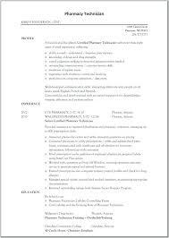 Pharmacist Resume Example Pharmacy Technician Sample For Hospital 8