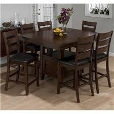 oldbrick furniture. jofran taylor brown cherry 7piece counter height dining set oldbrick furniture
