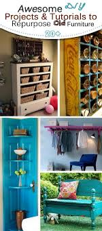 repurpose old furniture. DIY Makeover Projects \u0026 Tutorials To Repurpose Old Furniture! Furniture