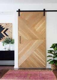 sliding barn doors. Sliding Barn Doors. Geometric Wooden Door Doors