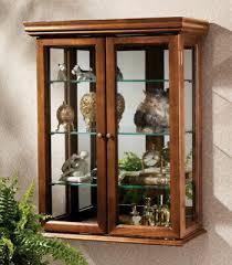 tabletop wall curio display cabinet