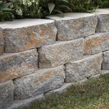 Home Depot Wall Stone Garden Wall Stones Home Depot. Rock Blend Concrete  Wallpavestone Shelves Design Ideas