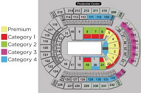 Prudential Center Suite Seating Chart 63 Circumstantial Seating Chart For Prudential Center