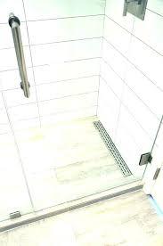 shower drain tile linear insert installation drains home depot best dr installation linear drain guide shower