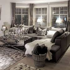 Living Room Design Ideas For Small House Black White Silver Living Room -  Your living room