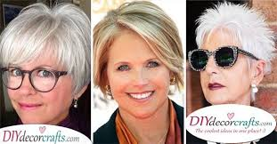 short hairstyles for women over 50 with