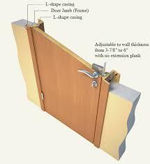 Door Jambs Casing Extension Interior Door Jamb Center Divinity