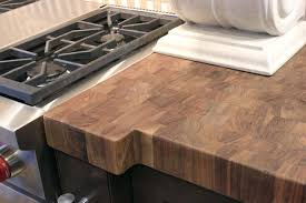 wooden countertop finish photo 5 of walnut butcher block finished with butcher block wax marvelous food wooden countertop finish