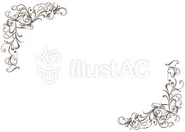 simple frame border design. Classic Simple Frame Border Decorative Design