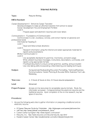 Extracurricular Activities On Resume 71 Images Format Of