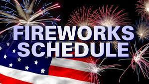 2021 fireworks displays in nepa wnep com
