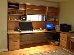 home office setups. Picture Of Custom 10 FT Home Office Setup Setups