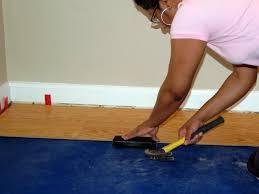 install floor planks