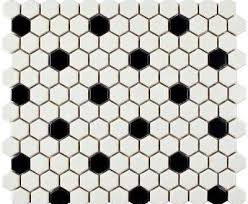 black and white hexagon tile floor. Hexagon Tile Flooring The Home Depot Attractive White Pertaining To 14 Black And Floor