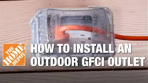 how to install an outdoor gfci electrical outlet how to install an outdoor gfci electrical outlet