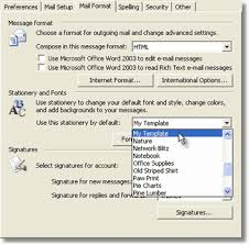 Use Email Template Outlook 2013 Stationery How To Import Stationery Templates To Outlook