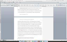 Microsoft Word Apa Header Formatting Inline Level 3 Apa Headings Using Microsoft Word