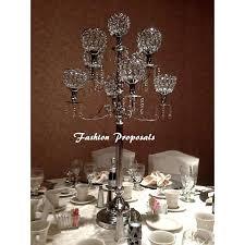 chandelier centerpieces