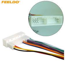 us 2 24 14% off car radio stereo wiring harness adapter plug for hyundai ix35 elantra santa fe sonata aftermarket cd dvd stereo installation in