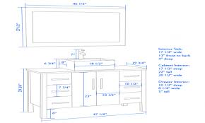 Bathroom Vanities Height Mirror Height In Bathroom
