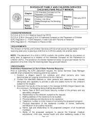 icpc form 100a 15 2 placement of georgia children into other states